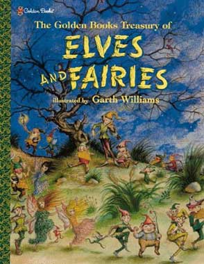Elves: Garth Williams illustration of elves and fairies