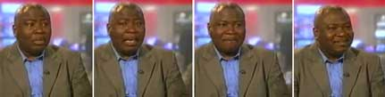GuyGoma: Guy Goma in BBC blooper--first surprise and shock, then good-humored charm