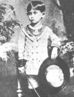 Kafka: Little Franz Kafka's parents kept many photos of their darling only son.