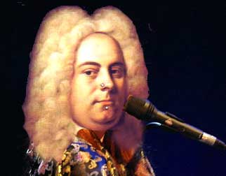 ModHandel: Handel with piercings and microphone