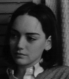 Marie Devine as pensive teenager
