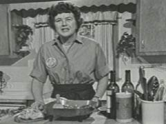 Julia: Julia Child, 6 feet 2 inches of enthusiastic womanhood.