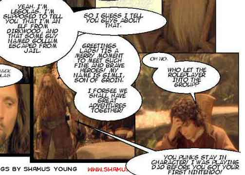LORD OF THE RINGS QUOTES FUNNY